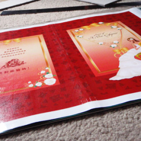 Hand-laminate a film of protective sheet for extra love and care.